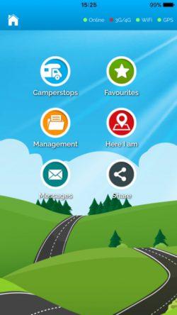 Camperstop app - Gratis app med 9000 bobilparkeringer