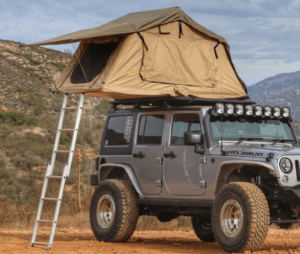 Smittybilt Overlander Smallest Roof Top Tent