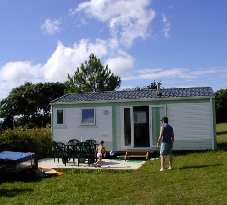 location mobil home plage de Kervel à Plonevez-porzay
