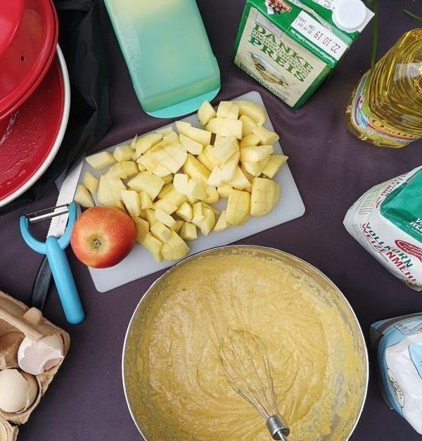 Schneller Apfelkuchen im Omnia