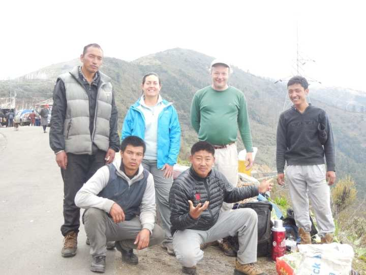 Trekking in Bhutan 5
