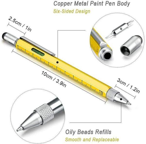 Multifunktionaler Kugelschreiber
