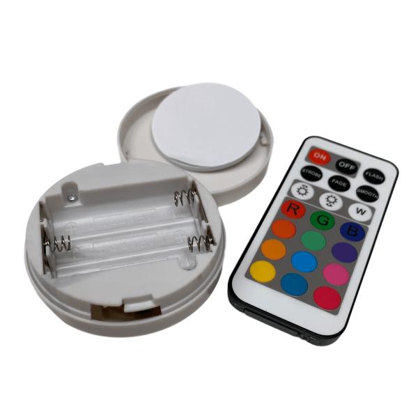 Portables LED-Licht mit Fernbedienung