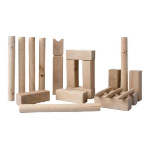 Kubb-Spiel - Holzspiel aus Schweden