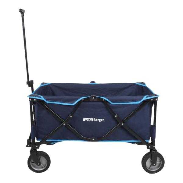 Bollerwagen - Transportwagen - Berger blau