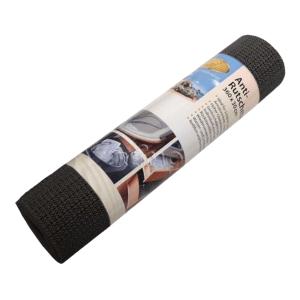 Antirutschmatte 30 x 360 cm - schwarz - waschbar