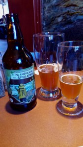 """Pit Caribou's """"IPA Américaine des Appalaches"""" beer"""