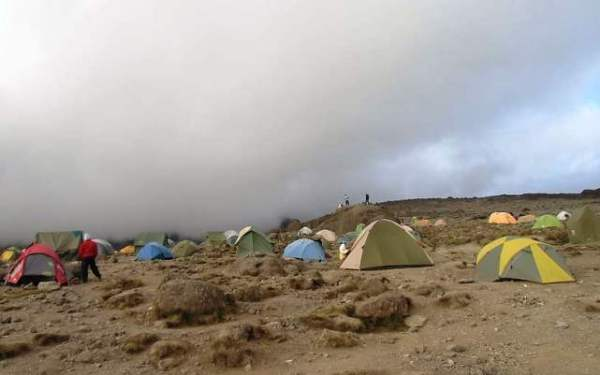 image of dry camping