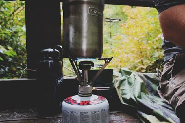 Image of camping coffee
