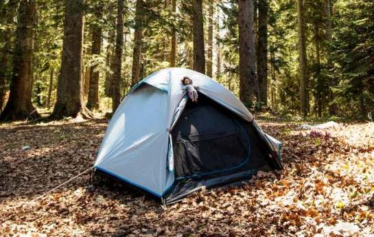 Image of best tent for backpacking