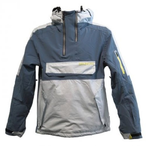 Image of rain jacket that folds into a pouch