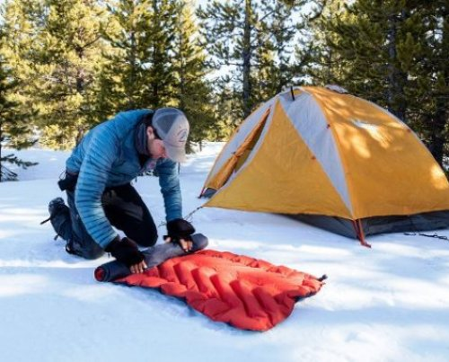Image how to heat a tent without electricity