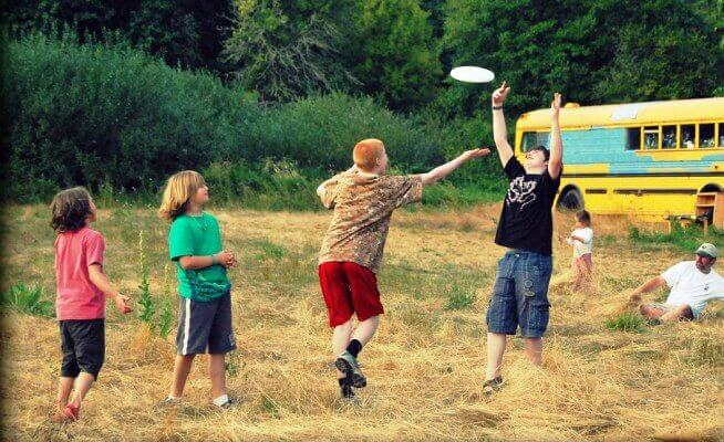 Image of things to do when camping with family