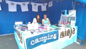 Volunteers at Campingninja events
