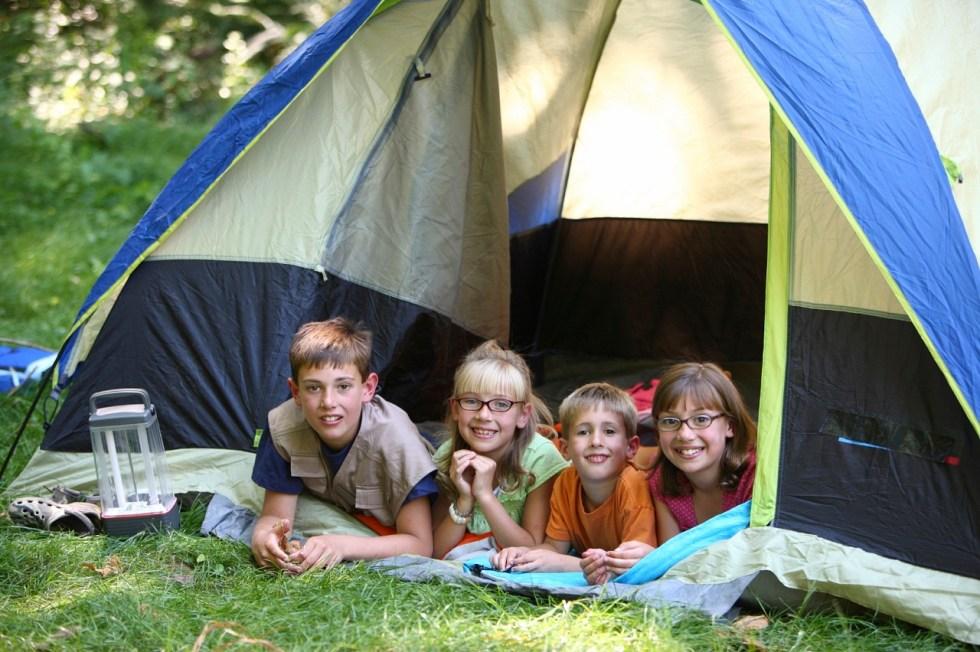 Image result for kids camping