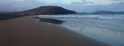Vista al mar Camping Playa de Vargas, Gran Canaria