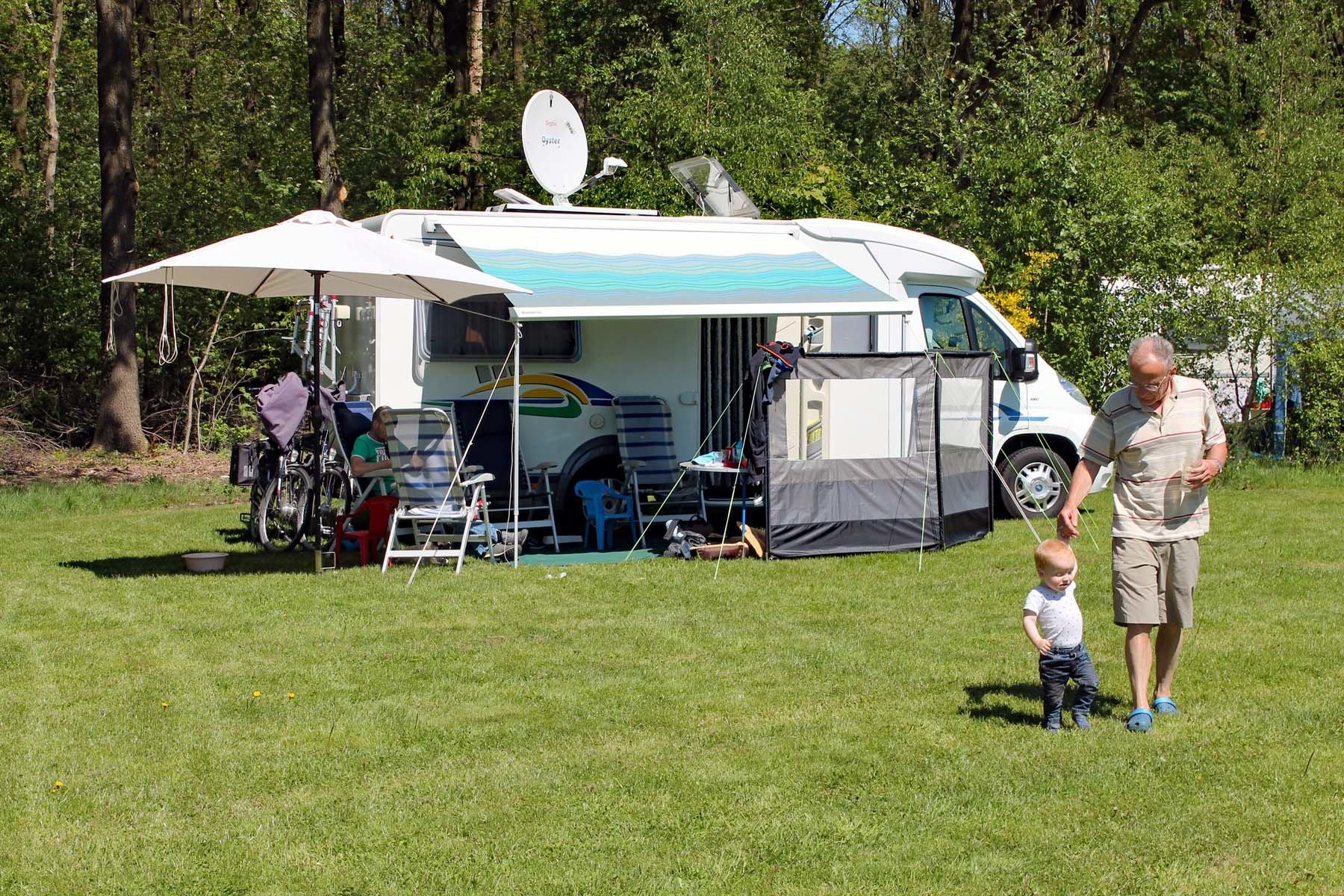 Camperplek in Drenthe