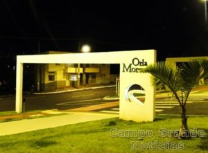 Orla Morena de Campo Grande (MS), local onde ocorreu o assalto – Foto: Divulgação