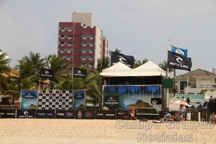 Vista geral do Rip Curl Guarujaense de Surf – Foto: Silvia Winik