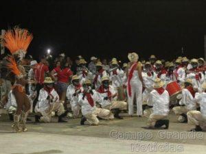 Bateria da Escola de Samba Igrejinha no Carnaval de 2015 – Foto: Divulgação