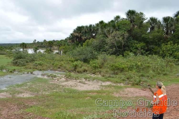 Município de Rio Verde de Mato Grosso (MS) neste sábado (16/01) – Foto: Divulgação