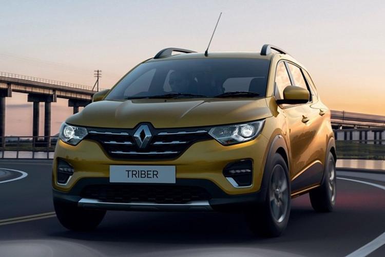 Renault Triber tem dianteira que lembra a do Kwid (Foto: Divulgação)