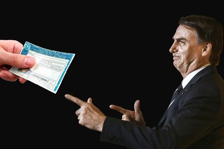 Desde antes de seu mandato, Bolsonaro está em guerra contra a legislação de trânsito do país