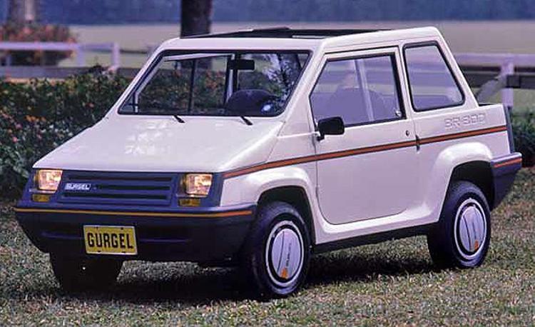 O BR 800 foi um carro icônico para a marca (Foto: Gurgel)