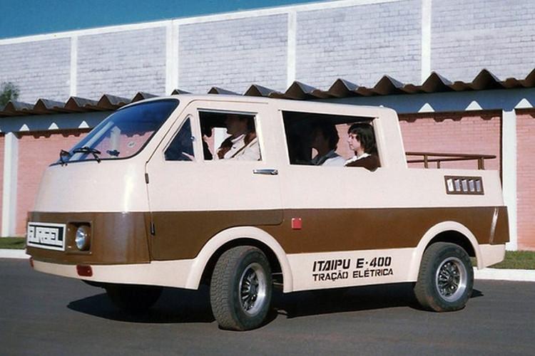 O Itaipu chegou a ganhar uma versão furgão (Foto: Divulgação)
