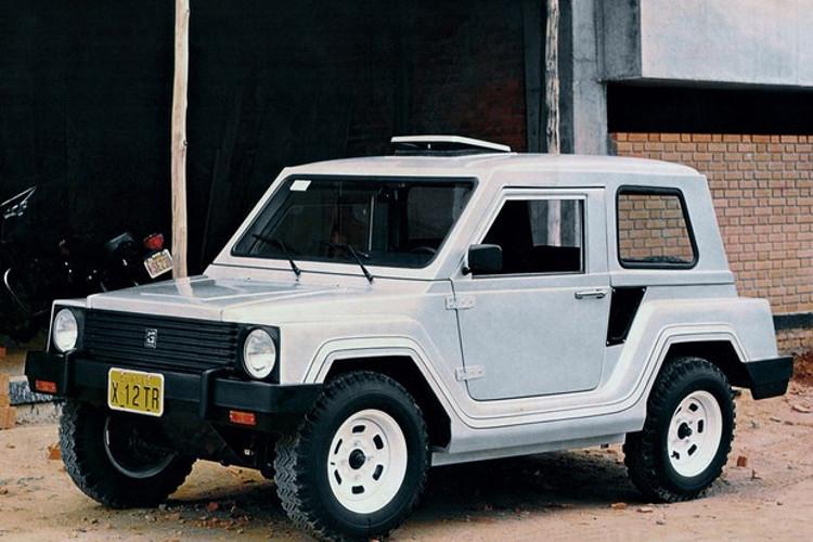 O X12 – e suas variações – foi um modelo importante para a Gurgel (Foto: Divulgação)