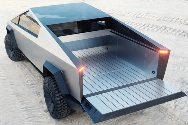 Tesla Cybertruck pode rebocar até 6 toneladas (Foto: Divulgação)
