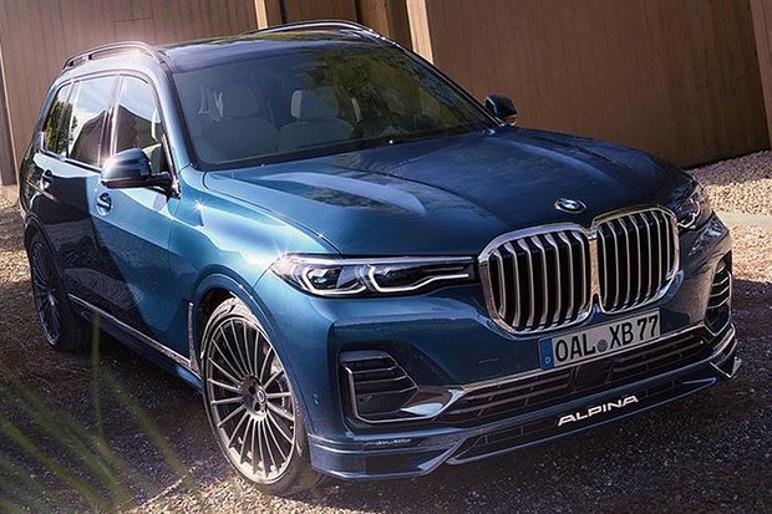 BMW Alpina XB7 é baseado na versão mais potente da X7 (Foto: Divulgação)