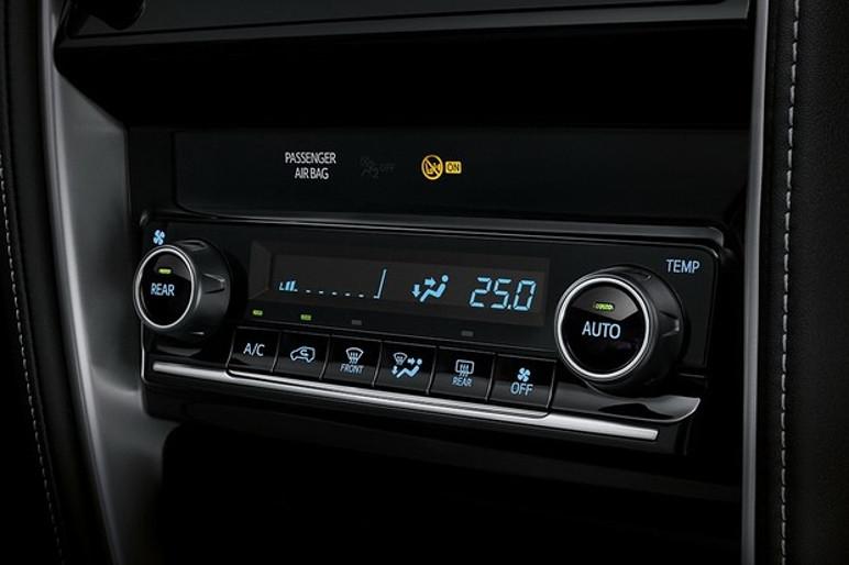 O ar-condicionado digital continua com somente uma zona de temperatura (Foto: Divulgação)