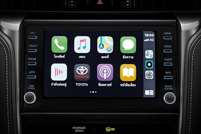 O sistema multimídia é compatível com Apple CarPlay e Android Auto (Foto: Divulgação)