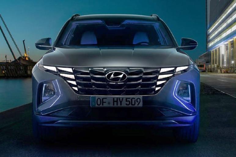 Hyundai Tucson 2021 Grade Frontal (Foto: Divulgação)