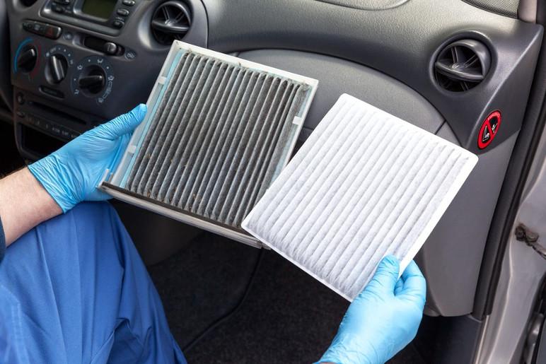 Filtro do ar-condicionado do carro (Foto: Divulgação)