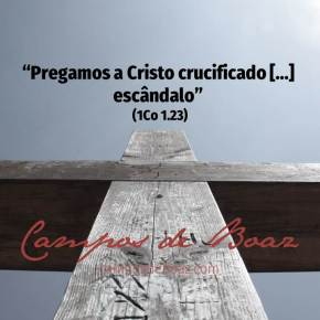 A ofensa da cruz