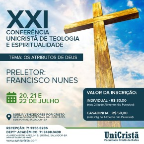 Mensagens da Conferência em Salvador (BA)