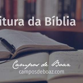 Leitura da Bíblia em 2020