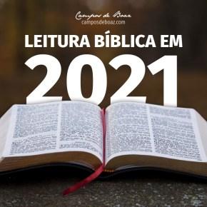 Leitura da Bíblia em 2021