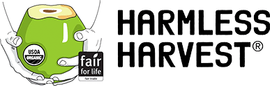 harmless harvest logo