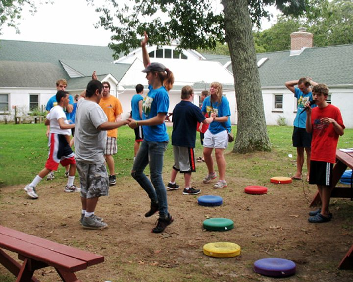 summer camp dancing