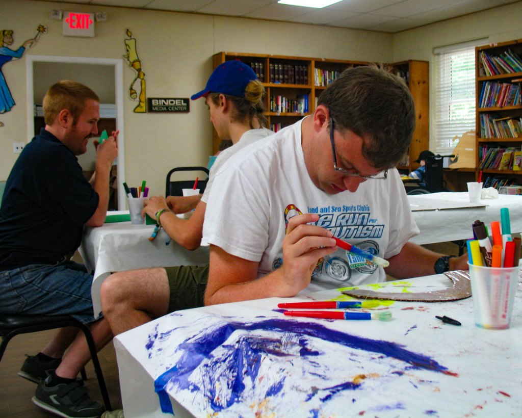 special needs respite camp games & crafts