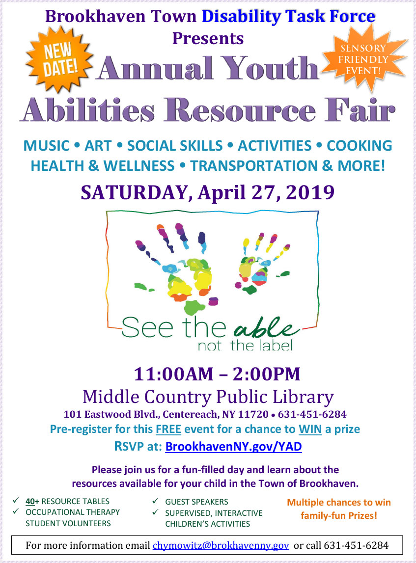 2019 Annual Youth Abilities Resource Fair