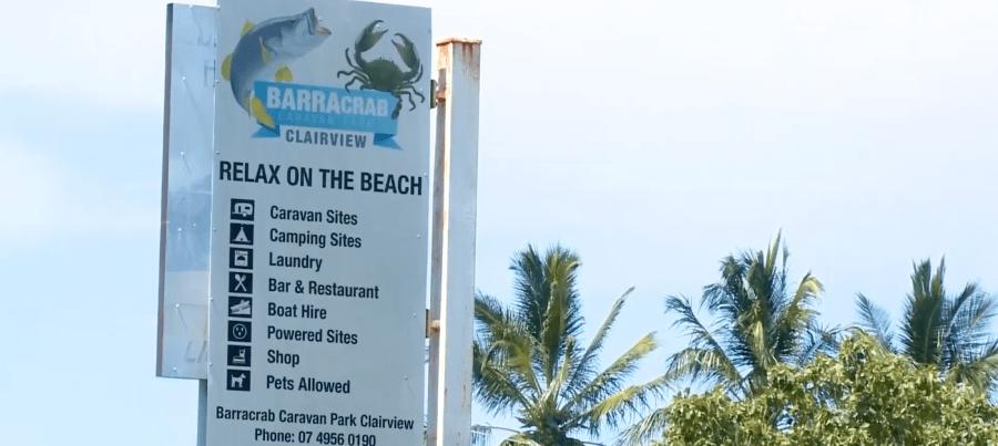 BarraCrab Caravan Park in Clairview