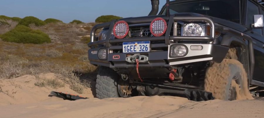 ARB recovery kit tred pro max trax upgrade