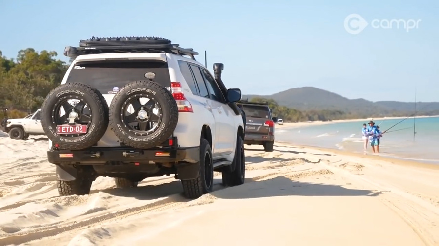 4wd access beach and sand driving