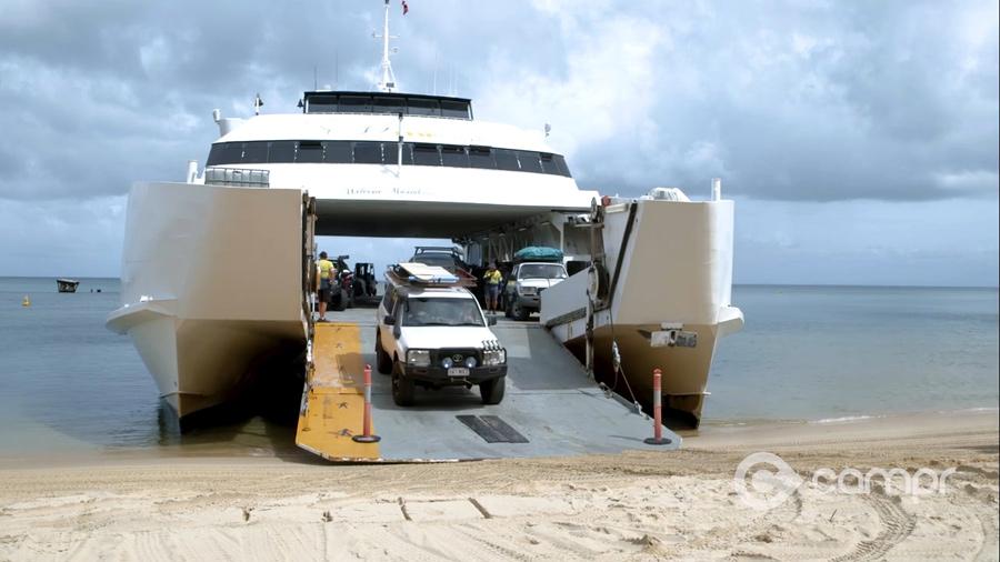 Micat Moreton Island Ferry