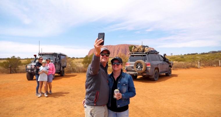 Uluru-Kata Tjuta National Park Before Art Insallation