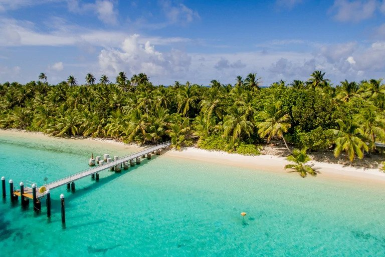 Cocos Keeling Island Beach & Pier